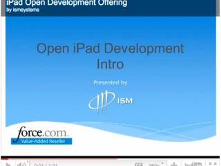 Mobile CRM Open Development Program Overview